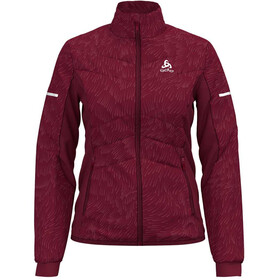 Odlo W's Irbis X-Warm Jacket rumba red